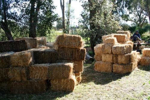 A bunch of bales